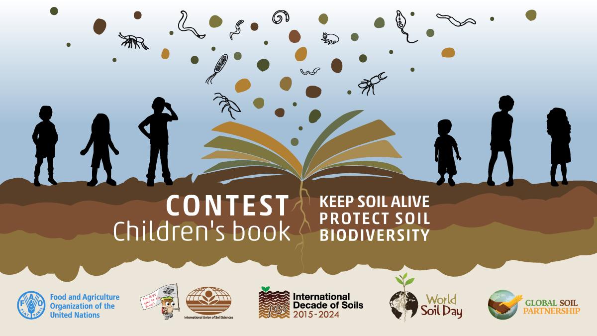 IUSS – FAO-GSP Children's book contest on Soil Biodiversity