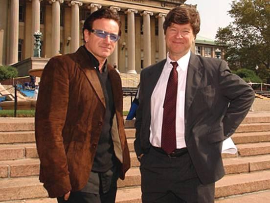 Bono Vox and Prof. Jeffrey Sachs
