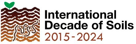 Logo of the international decade of soils 2015-2024