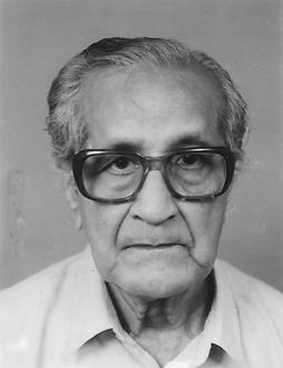 Prof. S.V. Mukherjee (1914-2006)