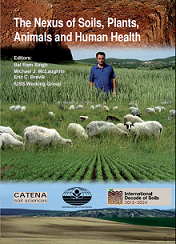 The 21 contributions in this book describe the role soils play for plant, animal and human health. They show that soil- and human health are intricately connected, because healthy soils produce healthy crops, which in turn nourish humans and animals, allowing for their health and productivity.
