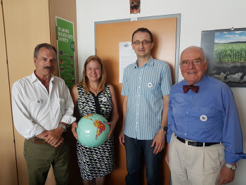 Photo (from left to right): Gonzalo Farias, Floria Bertsch, Sigbert Huber, Winfried Blum